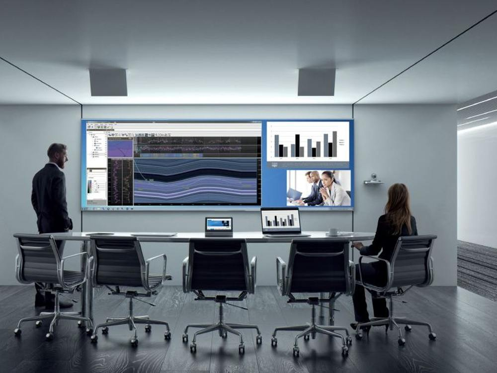 Collaboration und Conferencing via Cyviz Control Platform (Foto: Cyviz)