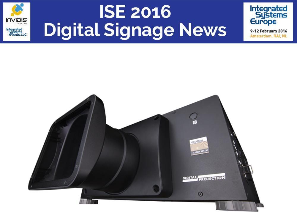 Digital Projection Modell HighLite Laser - der Nachfolger ist auf der ISE 2016 zu sehen (Foto: Digital Projection)