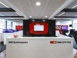 Eingangsbereich zu einem SBB BusinessPoint (Foto. SBB)