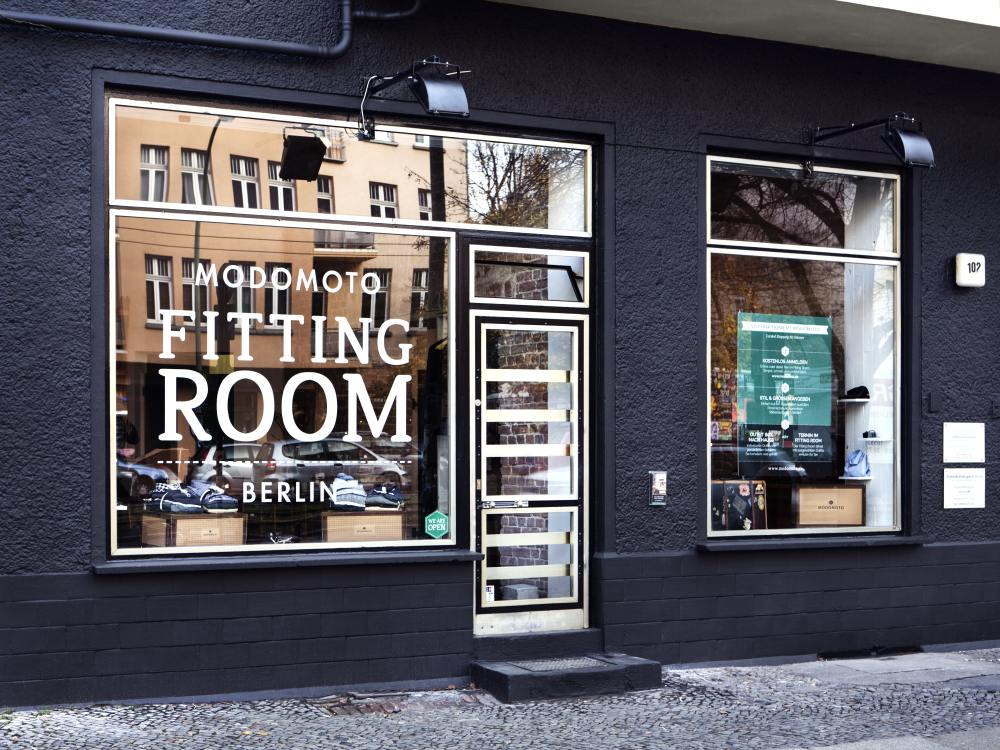 Fitting Room von Modomoto in Berlin (Foto: Modomoto)