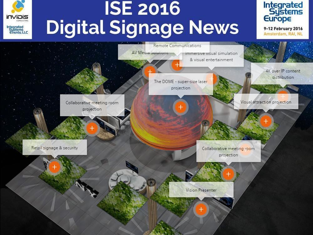 Geplanter Sony Stand auf der ISE 2016 (Grafik: Sony)