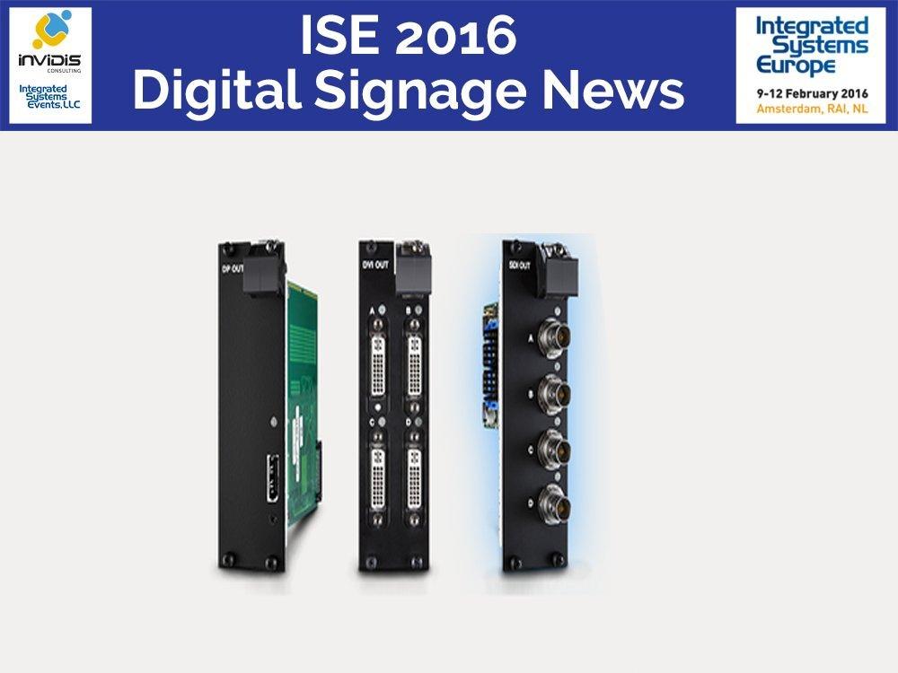 ISE 2016 - d3 wird seine VFC Karten mehrfach zeigen (Foto: d3 Technologies)