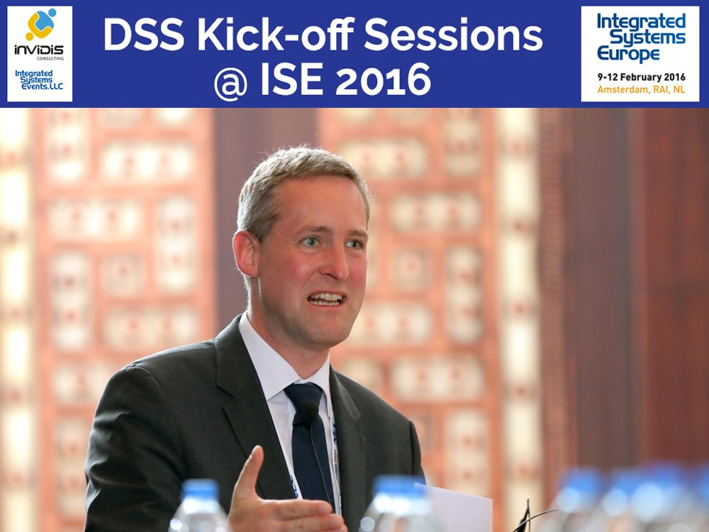 ISE 2016 - innovative und interaktive Digital Signage Projekte stellt invidis Geschäftsführer Florian Rotberg vor (Foto: Mohamed Najeeb)