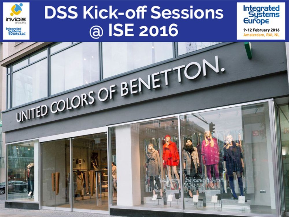 DSS Presentation: Benetton - The Store as the Place for a Limitless Experience (Foto: Benetton)