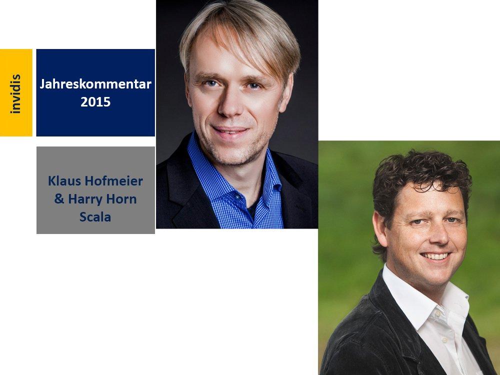 Digital Signage-Jahreskommentar 2015: Klaus Hofmeier (li.) und Harry Horn (re.) (Bilder: Scala)