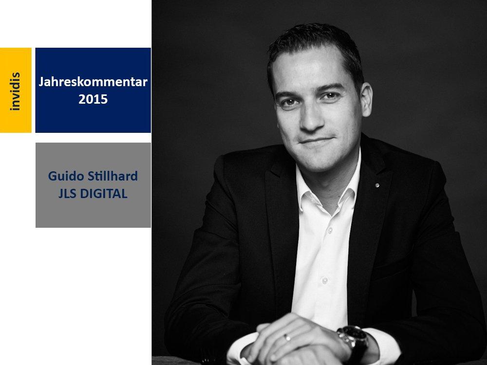 Digital Signage Jahreskommentar 2015: Guido Stillhard (Bild: JLS Digital)