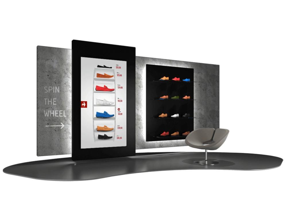 Mögliche Retail Umsetzung auf Basis von jt´retail (Foto/ Rendering: jumptomorrow)