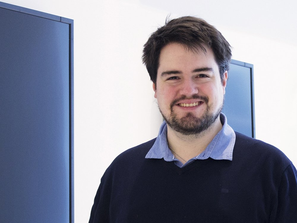 Moritz Kirk betreut seit Ende 2015 die Software Neolive (Foto: Neo Group)