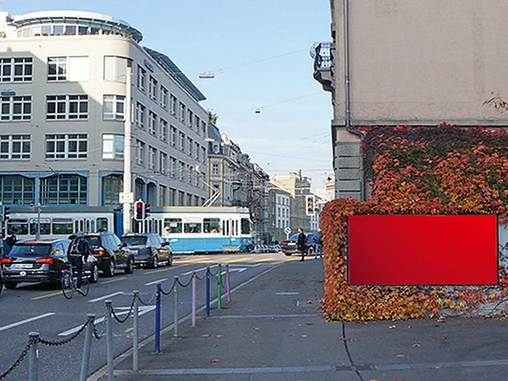 Plakatwand in Zürich (Foto: APG|SGA)