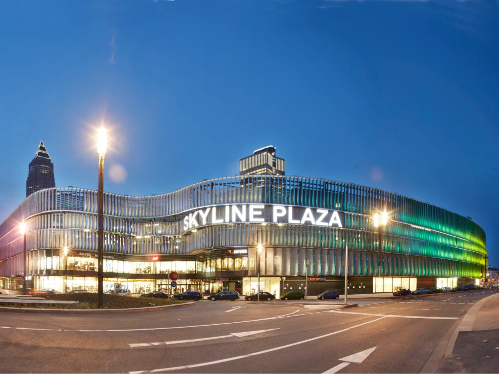 Shopping Center in Deutschland - Skyline Plaza in Frankfurt (Foto: ECE)