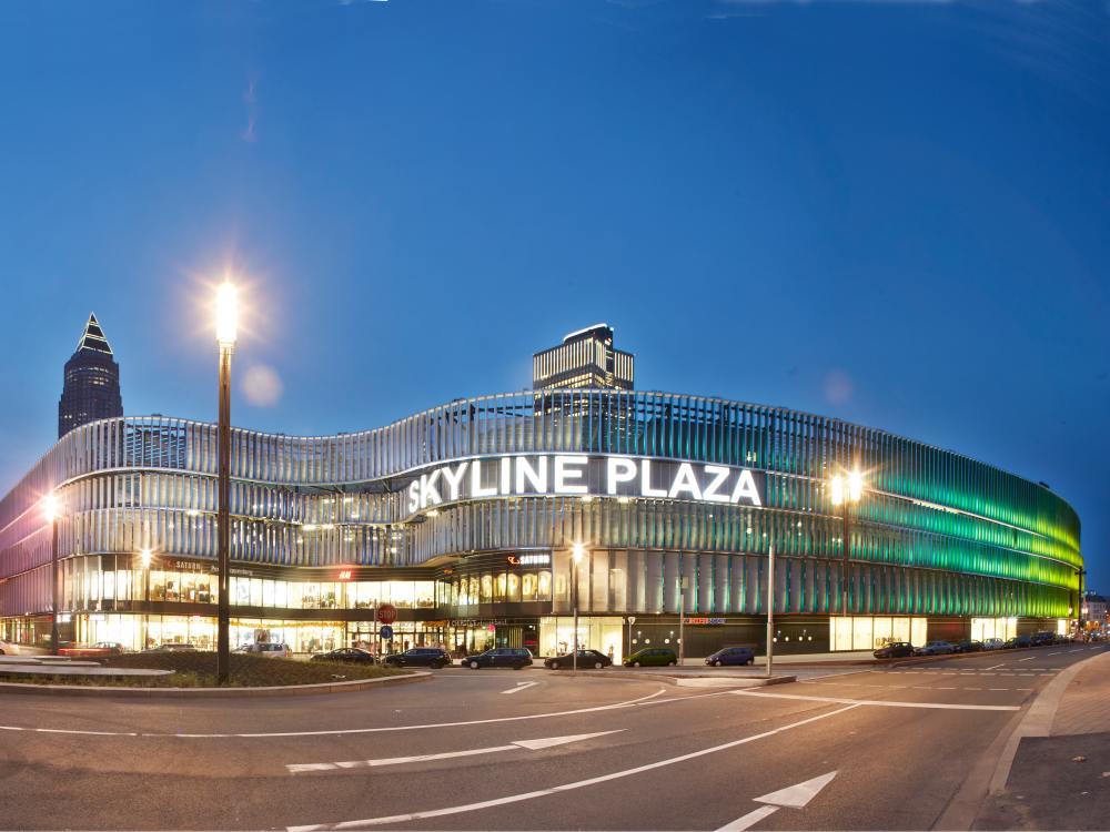Shopping Center in Deutschland - Skyline Plaza in Frankfurt (Foto: ECE)