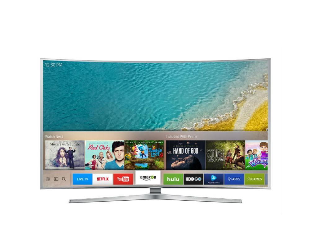 Smart TV mit Tizen basierter Nutzeroberfläche (Foto: Samsung)