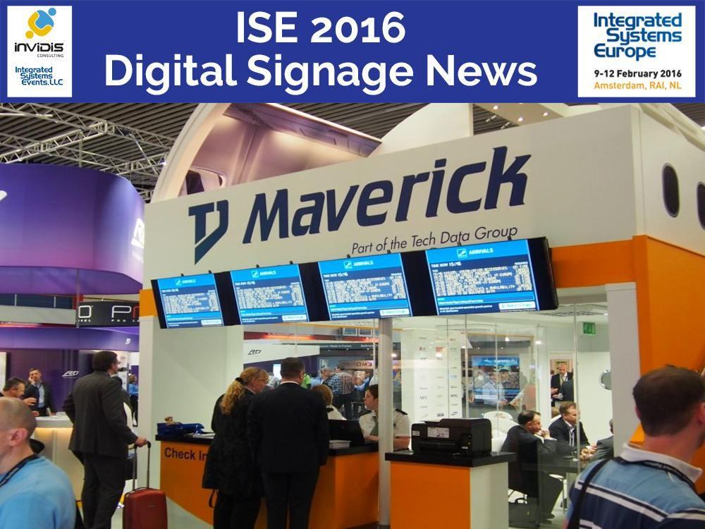 Stand von TD Maverick auf der ISE 2014 (Foto: invidis)