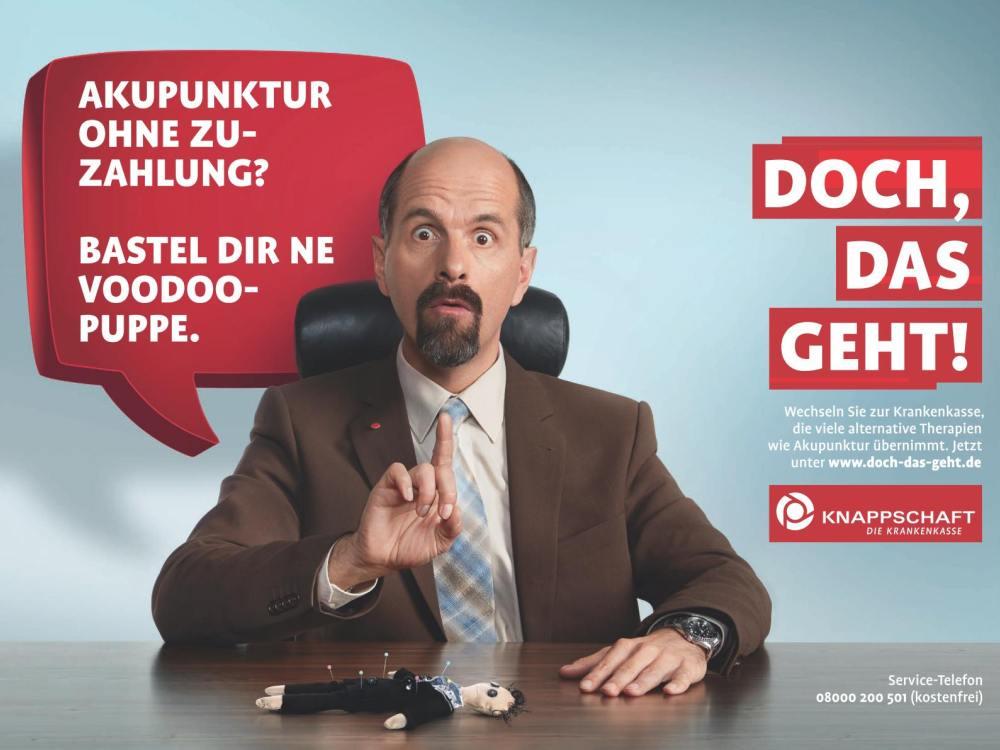 Stromberg pro Nadelstiche - Plakatmotiv der zweiten KBS Kampagne (Foto: SAINT ELMO´S Berlin)