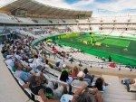 Tennis als Test - Turnier im Olympic Tennis Centre des Barra Olympic Park im Oktober 2015 (Foto: Rio 2016/ Alex Ferro)