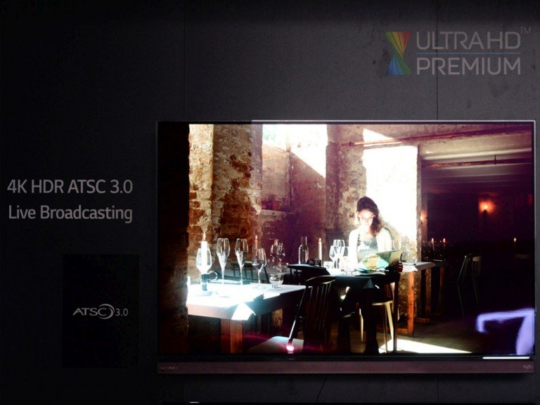 UHD Live Broadcast mit HDR Content (Foto: LG)