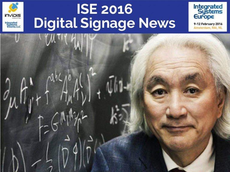 Wird die Closing Keynote der ISE 2016 halten - Michio Kaku (Foto: Michio Kaku)