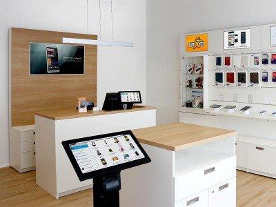 my-store.TV als Teil des vernetzten Ladens (Foto: Brodos)