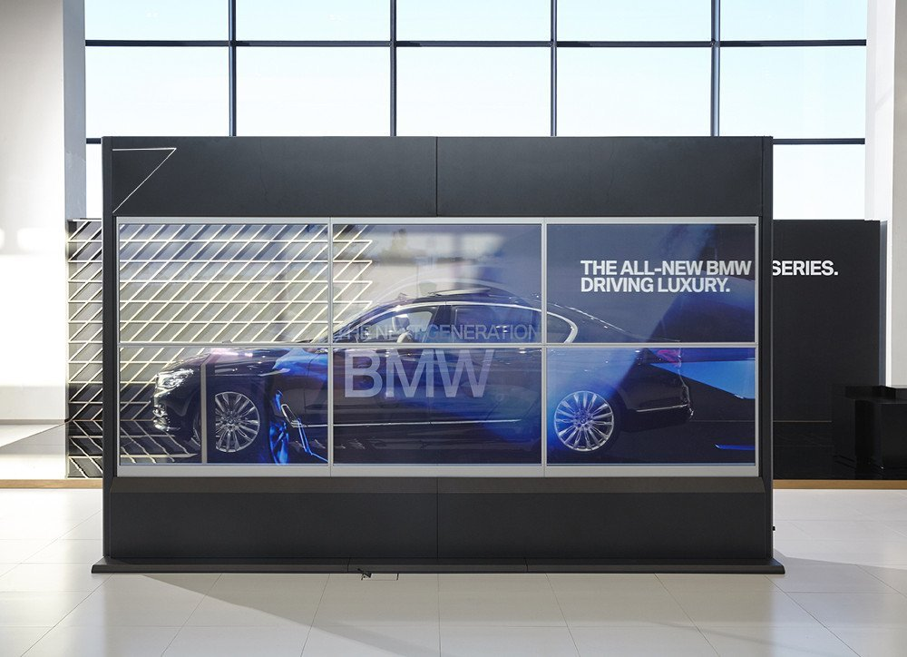 Transparente OLED Video Wall (Foto: Samsung)