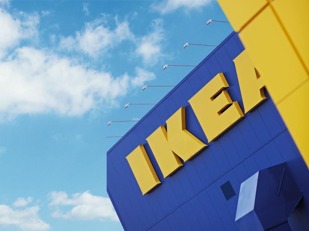 Blick auf einen IKEA Store (Foto: IKEA Systems B.V. )