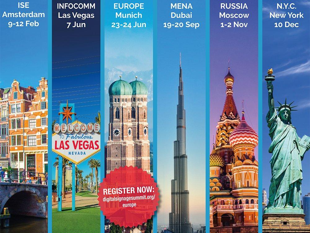 Die Registierung für den Digital Signage Summit Europe 2016 ist jetzt eröffnet (Bild: invidis)