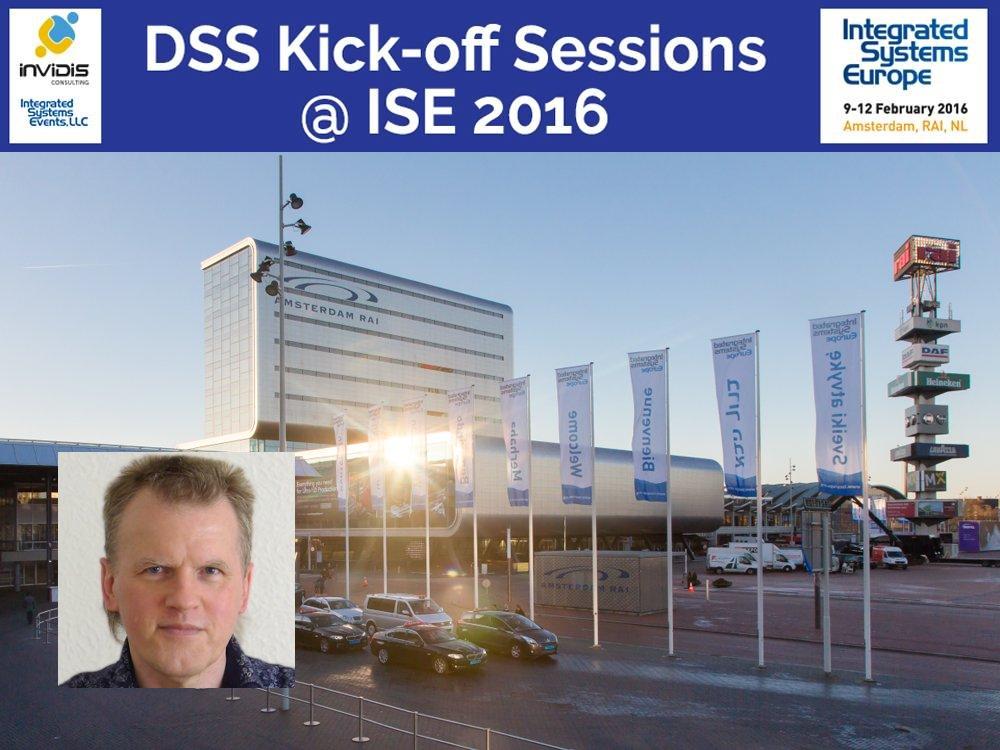 Dieter Michel, CEO von LFM - Lab for Media Technology - gibt praktische Tipps auf der ISE (Fotos: LFM - Lab for Media Technology; ISE)