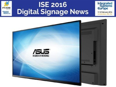 Digital Signage Screen SD433 (Foto: Asus)