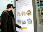 Google Impact Challenge - via Touchscreen war das Voting einfach und schnell möglich (Foto: OMD Germany)
