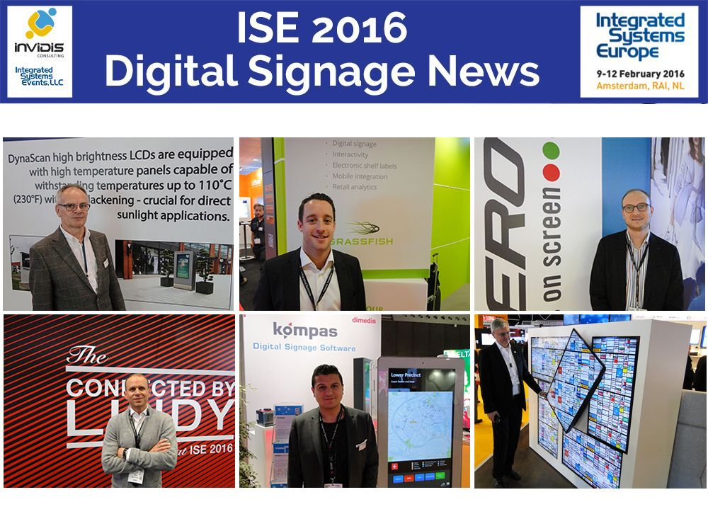 Ausstellerstimmen der Integrated Systems Europe ISE 2016 (Bild: invidis)