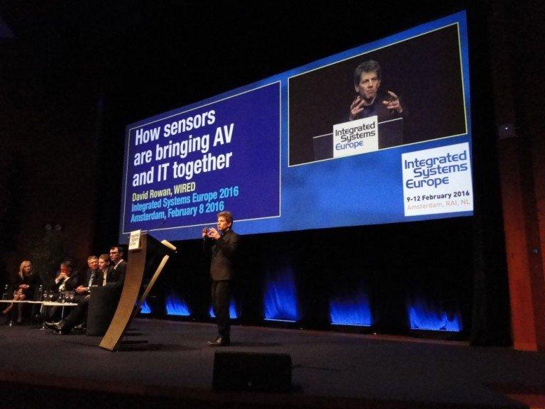 Opening Keynote Discussion moderiert von David Rowan, Wired UK Magazine