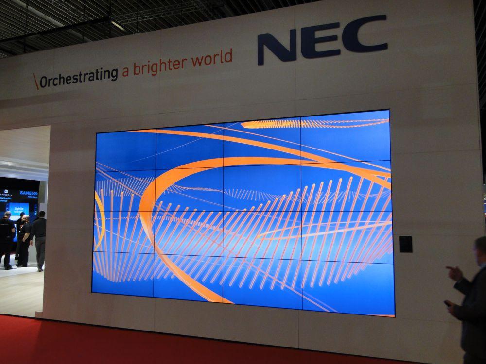 Bildergalerie NEC Stand ISE 2016 (Bild: invidis)