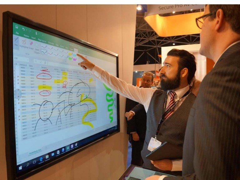 Touchmonitore stehen bei iiyama im Mittelpunkt, vor allem im Bereich Bildung (Foto: invidis)