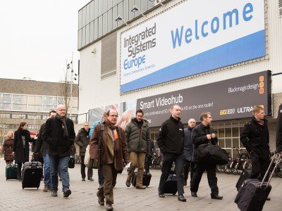 Großer Andrang auf der ISE 2015 (Bild: Integrated Systems Events)