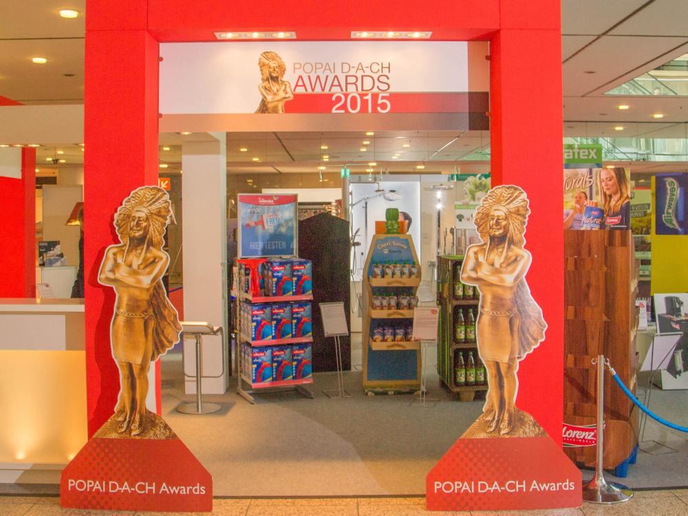POPAI Awards Stand im Jahr 2015 (Foto: POPAI DACH)