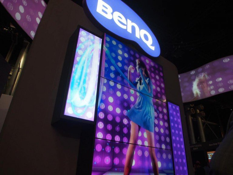 Stretched Screen und Video Wall Displays bei BenQ (Foto: invidis)