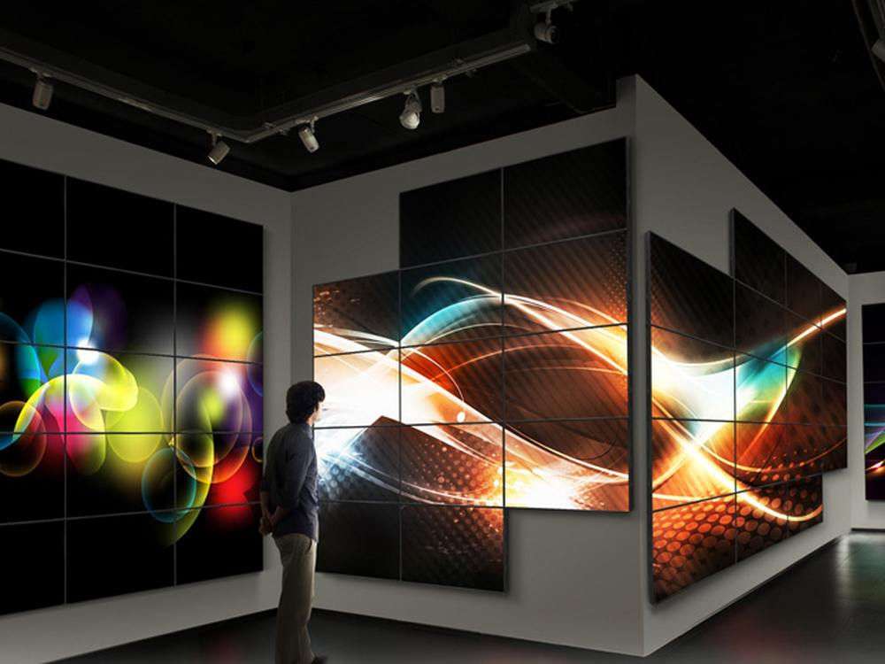 Video Walls mit Screens aus der ST Serie (Foto: ASUS)