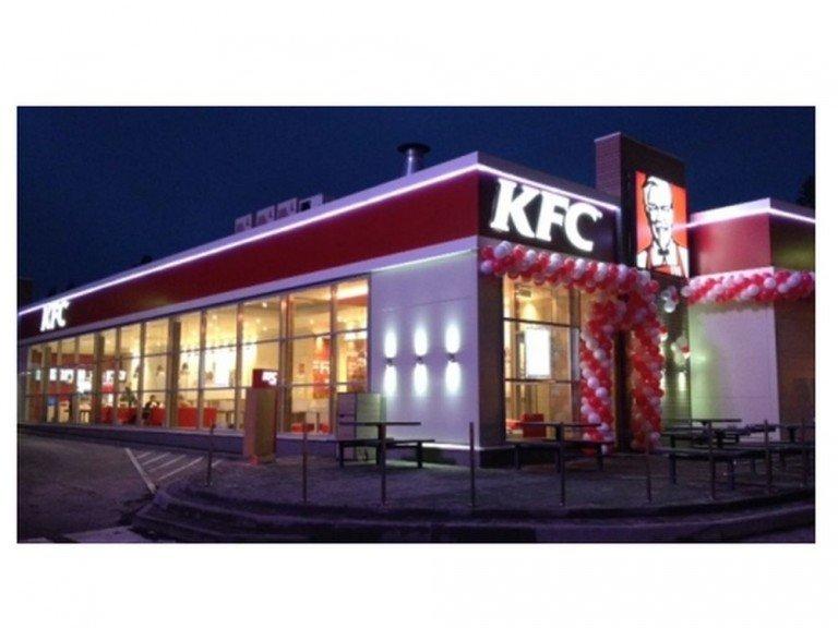 Von AmRest betriebener KFC im russischen Petrozavodsk (Foto: AmRest)