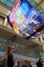 Am Incheon Airport erreicht Hersteller LG mit der OLED Installation seine internationalen Zielgruppen (Foto: LG)