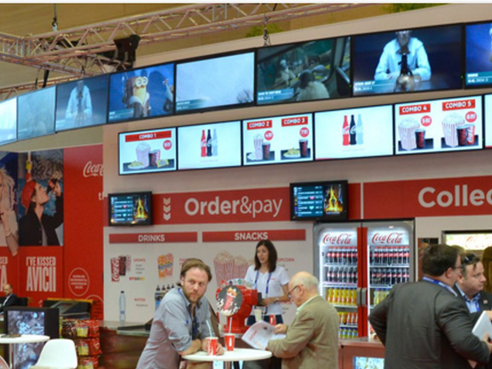 Coca Cola Lounge auf der CineEurope (Foto: Littlebit Technology)