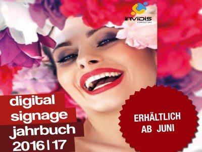"""""""invidis Digital Signage Jahrbuch 2016/17"""" - Jetzt Anzeigen buchen (Bild: invidis)"""