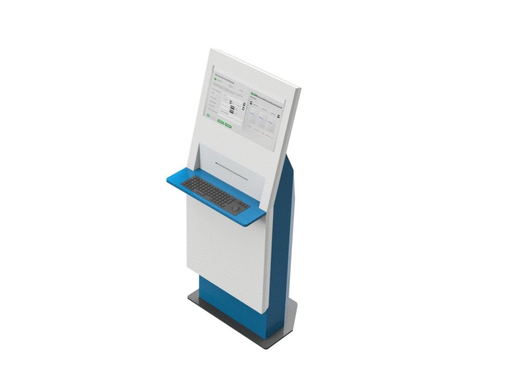 ESS Kiosk für den Einsatz in Corporate (Foto: Kiosk Solutions)