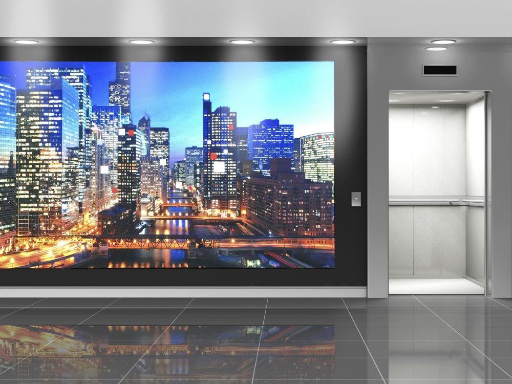 Indoor LED Lösung von NEC (Foto: NEC)