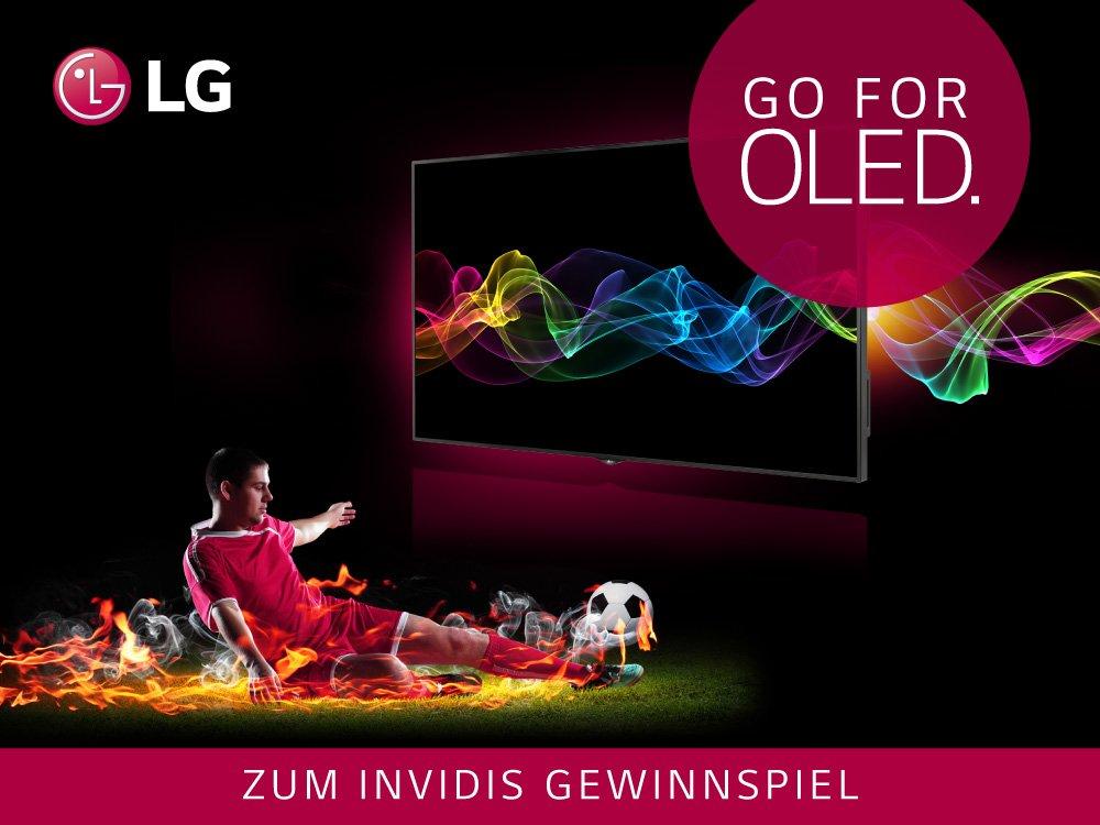 invidis und LG verlosen einen LG 55EG9109 Curved OLED-TV invidis und LG verlosen einen LG 55EG9109 Curved OLED-TV (Bild: LG)