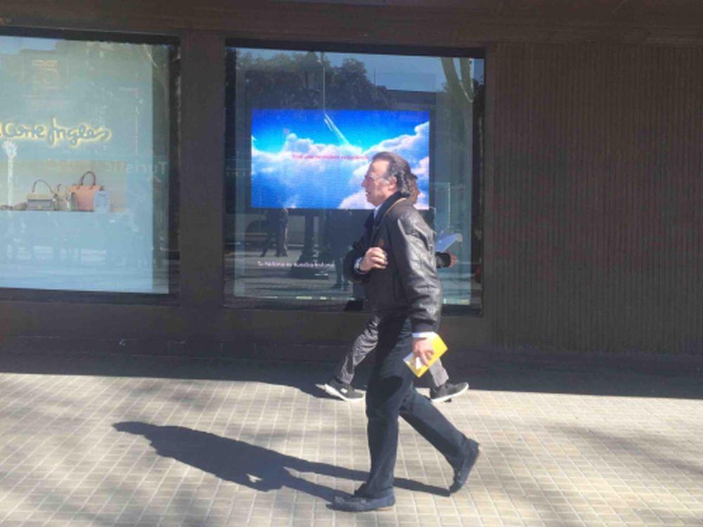 Led signage heimlicher renner von absen erobert spanien invidis - Estores screen el corte ingles ...