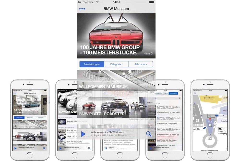 Neue App für das BMW Museum (Fotos: BMW AG)