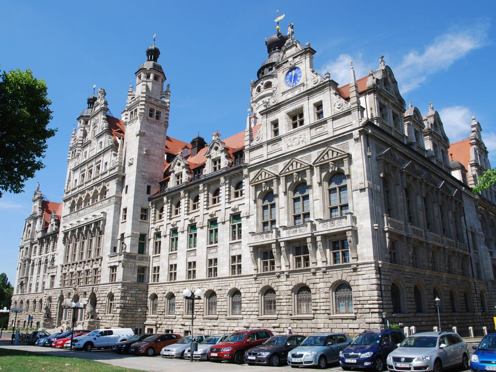 Neues Rathaus in Leipzig (Foto: Stadt Leipzig)