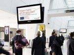 Nutzwert soll die Kampagne ebenfalls bieten - Free WiFi Angebote der Bank (Foto: JCDecaux)