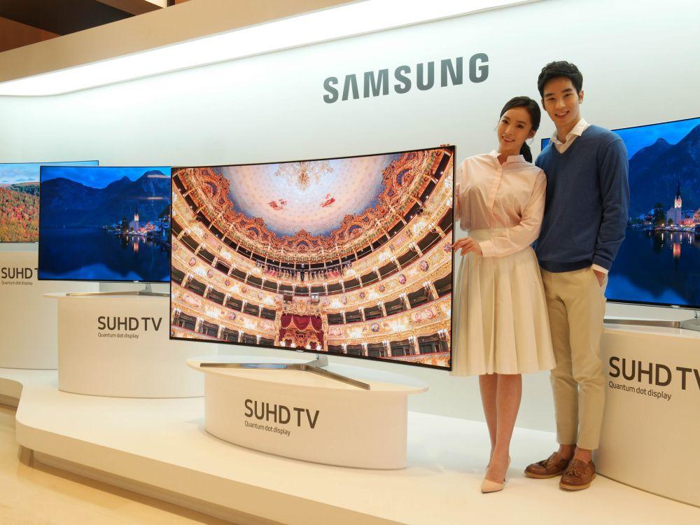 Vorstellung der zweiten Generation der SUHD TVs mit QD (Foto: Samsung)
