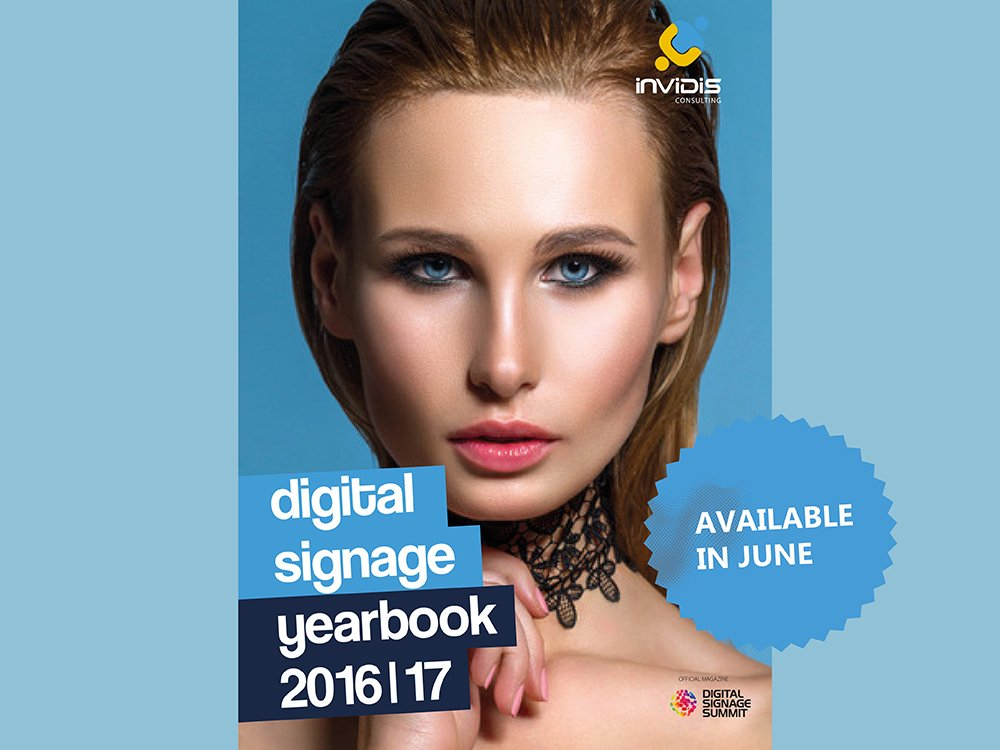 Digital Signage yearbook