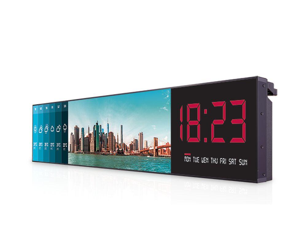 2 langer, horizontal nutzbarer Bar Type Screen (Foto: LG)